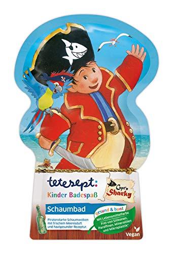 tetesept Kinder Badespaß Schaumbad Capt'n Sharky – Pflegender Badezusatz für Kinder ab 3 Jahren – 1 x 40 ml