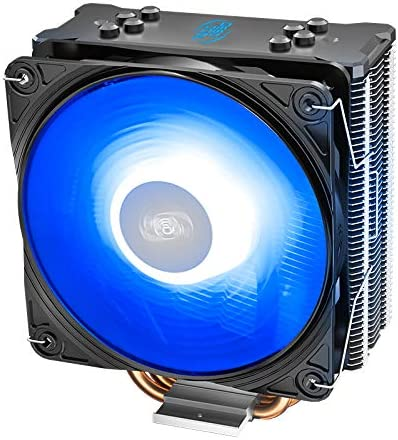 DEEPCOOL GAMMAXX GT V2 CPU Air Cooler Features 4 Heatpipes and 120mm RGB PWM Fan with 12V RGB Motherboard sync or Manual RGB Controller for Intel LGA 1200/1151, AMD AM4/AM3
