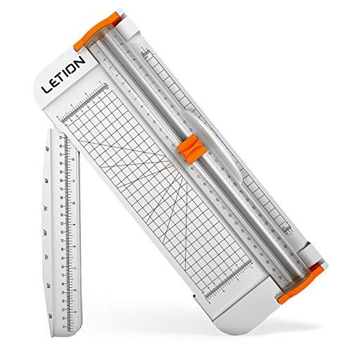 LETION Cortador de papel tamaño A4 corte