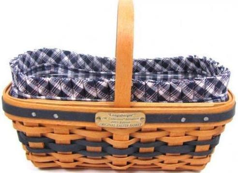 Longaberger 2003 J.W. Collection Miniature Edition Easter Basket