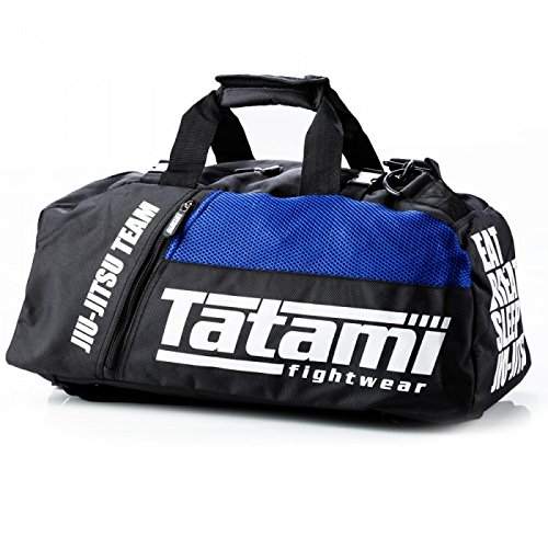 Tatami, borsone sportivo per Jiu Jitsu, BJJ, No-Gi, utilizzabile come zaino o come valigia