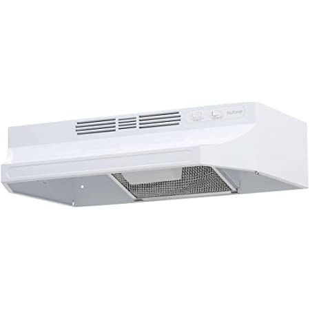 Amazon Com Broan Nutone Nutone Rl6200 24 In Non Vented Range Hood In White Rl6224wh Appliances
