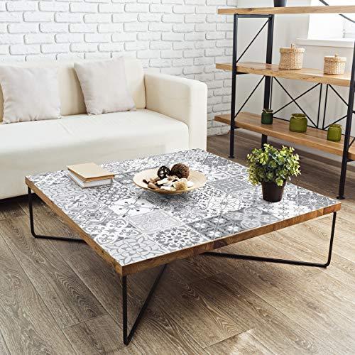 Meubelstickers, zelfklevend, tegelstickers, decoratie voor tafels, kasten, planken, 90 x 150 cm