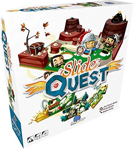 Blue Orange Slide Quest Juego de Guerra Niños y Adultos - Juego...