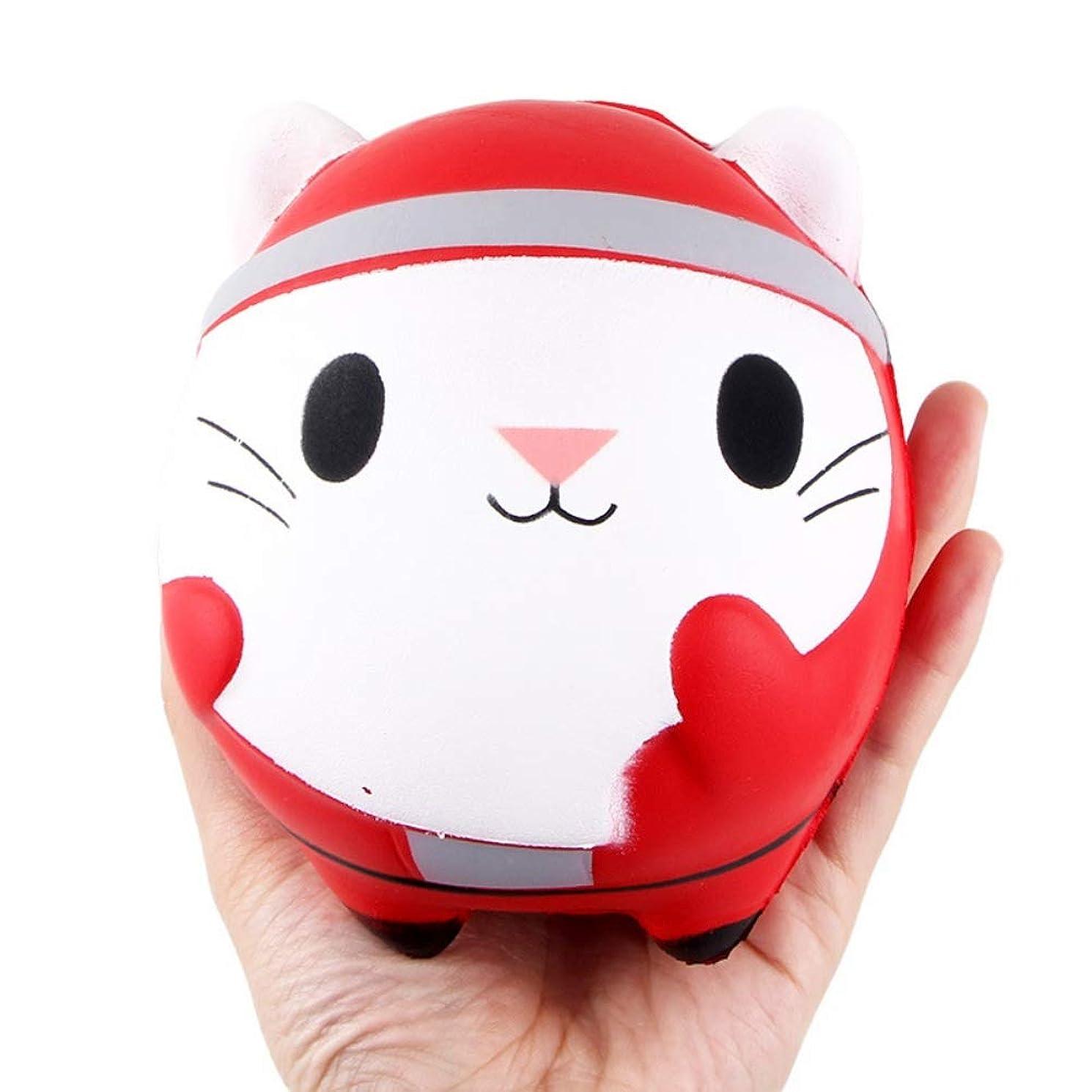 警告する適度に肺Ochine かわいい 猫 減圧スクイズ おもちゃ 子供 装飾 小道具 ストレスリリーフ 面白い 遅い回弾 クリスマス プレゼント 減圧おもちゃ クリスマス