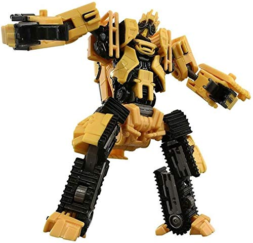 Transformers Toys Studio Series 60 Voyager Class Revenge of The Fallen Movie Constructicon Scrapper Action Figure King Kong Waste Slag Rolling Rage Bulldozer Engineering Vehicle Model for Boys Girls