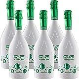Spumante Analcolico   Astoria Zerotondo   Alcol Free   Bevanda a Base di Succo d'Uva Bio   6 Bottiglie da 75 Cl   Idea Regalo