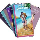 10 Cupones de Sexo – Juego Divertido de Tarjetas de Posiciones Sexuales – Cartas...