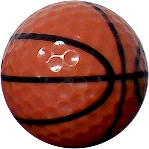 Basketball Golf Balls 12 Pack Upload Your Logo or Text Alaska