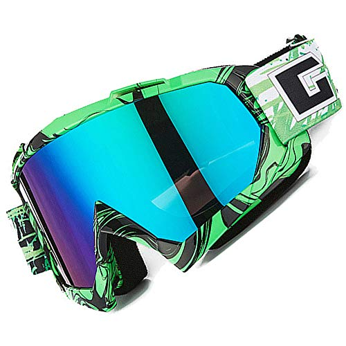 Gafas de motocross, Motocicleta Anti viento Polvo UV Dirt Bike Racing Riding...