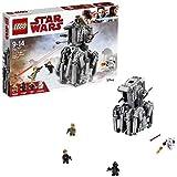 LEGO Star Wars - First Order Heavy Scout Walker, Juguete de Construcción de Vehículo de la Guerra...