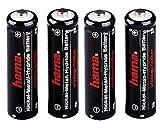 Hama de 4Pack Mignon (AA) NiMH Baterías de (1600mAh)