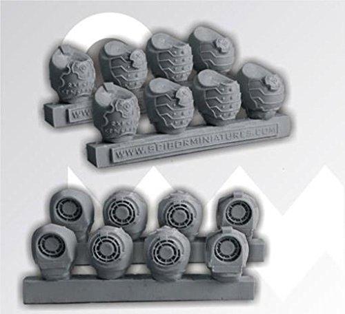 Scibor Monstrous Miniatures Sci-Fi Celtic Torsos