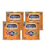 Enfagrow PREMIUM Toddler Transitions Baby Formula Milk Powder, 20 Ounce (Pack of 4), Omega 3 DHA,...