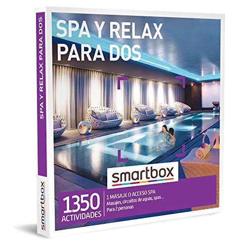 Smartbox - Caja Regalo para Mujeres - SPA y Relax para Dos - Ideas Regalos Originales para Mujeres - 1 Actividad de Bienestar para 2 Personas