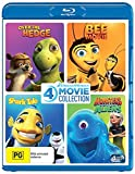 Over The Hedge / Shark Tale / Monsters vs Aliens / Bee Movie (4 Film Collection)