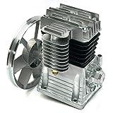 Aohuada 3HP - Compresor de aire de pistón (2200 W, cilindro, 250 l/min, silenciador, motor de bomba de aire, motor lubricado de aceite, bomba de compresor de aire