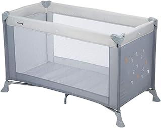 Safety 1st Soft Dreams Cuna de viaje plegable y portátil, adecuada para viajar, para bebés y niños 0 meses - 3 años, plega...