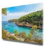 Wunderschönes Mallorca Bild 50x50cm klein, Fotomotiv,