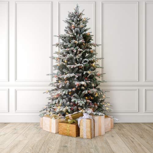 9 foot Pre-Lit Artificial Christmas Tree