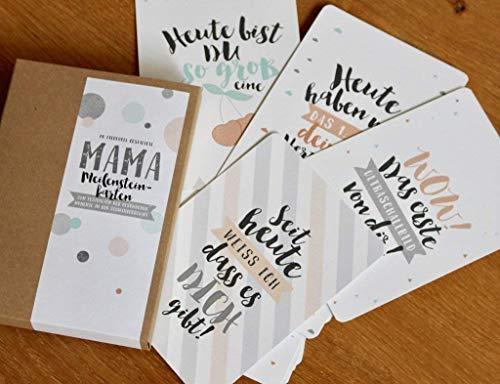 Schwangerschaft-Meilensteinkarten First Love
