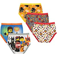 5-Pack LEGO Boys 4-8 Lego Movie 2 Briefs