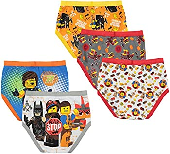 5-Pack Lego Boys Movie 2 Boxer Briefs