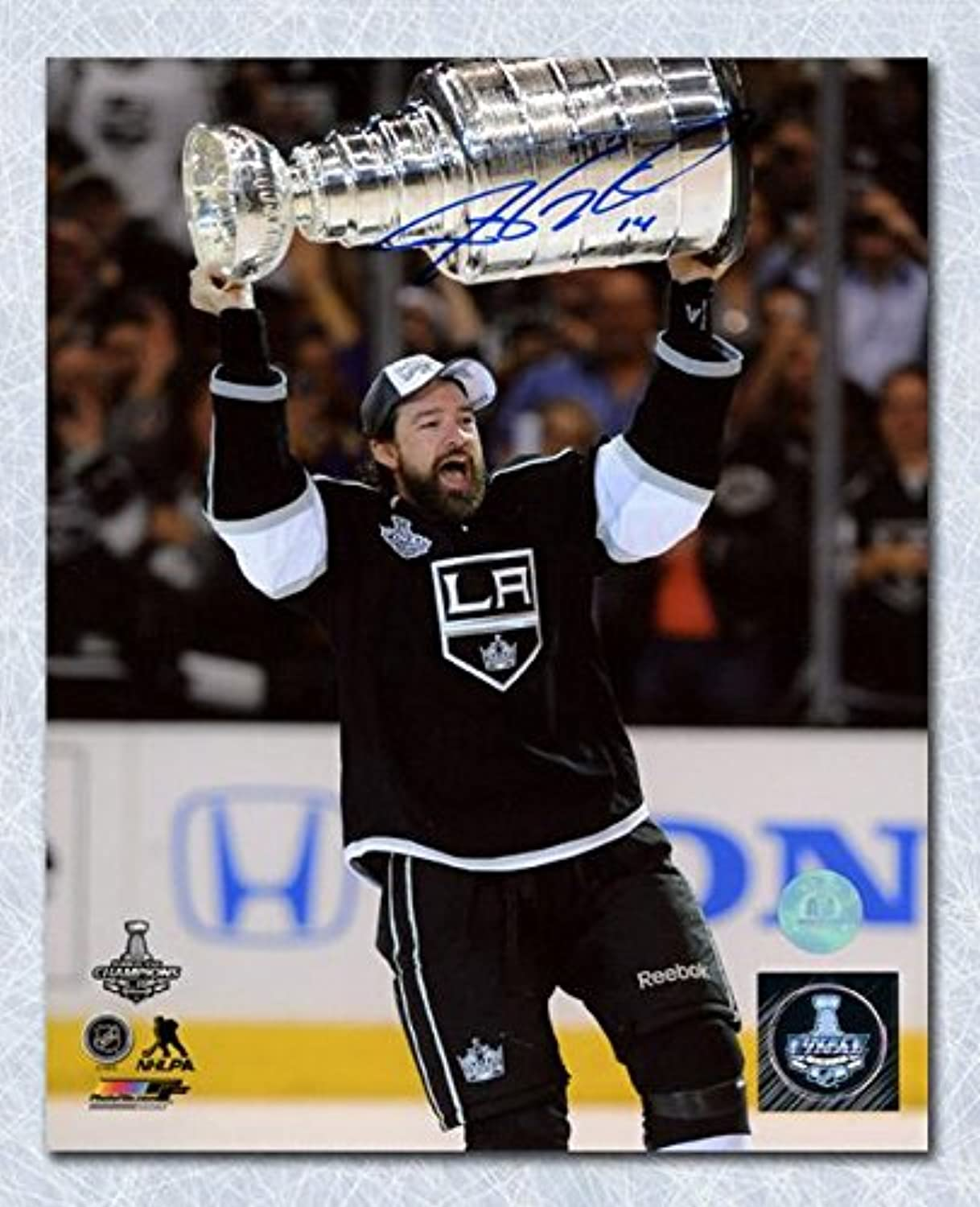 Autographed Justin Williams Picture  2014 Stanley Cup 8x10  Autographed NHL Photos