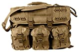 Rothco MOLLE Tactical Laptop Briefcase, Coyote Brown