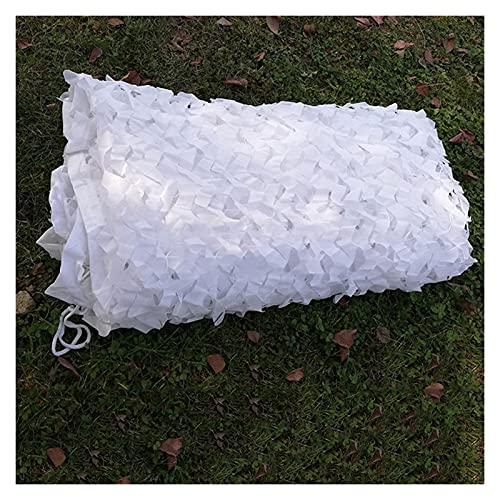 GHHZZQ 2021 por Acampar Militar Caza Disparos A Ciegas Mirar Ocultar Decoraciones para Fiestas Red de Camuflaje Camouflage Net Cortinas de Sombra (Color : White, Size : 1.5x4m)