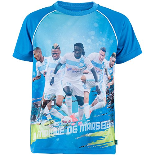 Olympique de Marseille Trikot Olympique de Marseille – Offizielle Kollektion, Kindergröße, für Jungen 8 Jahre blau