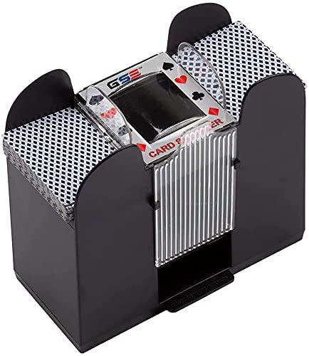 Blanda automatisk 6 betala automatisk lyx maskin mekaniska spela poker bärbara kasinospel, klassiska poker och handel kortspel,6 pay