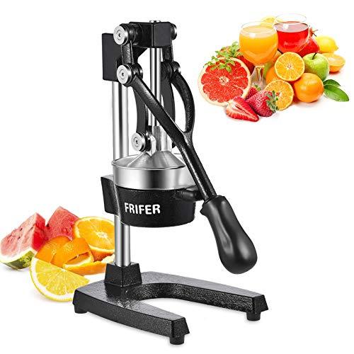 FRIFER Citrus Manual Juicer, Commercial Orange Juice Machine, Professional Fruit...
