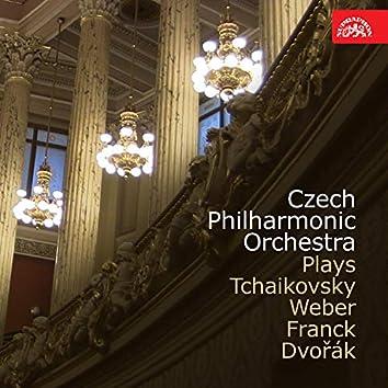 Tchaikovsky: Capriccio italien / Weber: Invitation to the Dance / Franck: Le chasseur meudit / Dvořák: Husitská