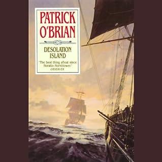 Desolation Island audiobook cover art