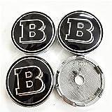 SXZG Car Wheel Center Cover Hub Caps For Brabus,auto Parts,65MM,4Pcs