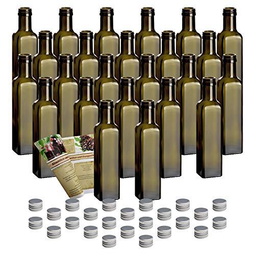 24er Set leere Glasflaschen
