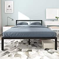 Yitahome 14 Inch Queen Size Bed Frame with Headboard