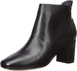 Cole Haan Women's Nella Bootie (65MM) Ankle Boot, Black Leather, 11 B US