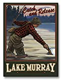 Lake Murray South Carolina Giclee Archival Canvas Print Wall Art Décor for Home & Office from Original Travel Artwork by Artist Paul A. Lanquist 9' x 12'