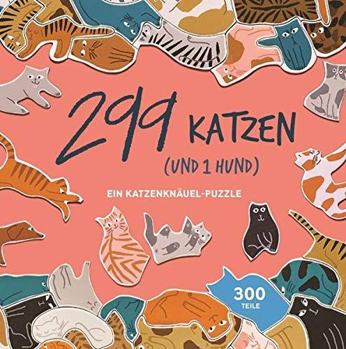 299 Katzen (und 1 Hund): Ein Katzenknäuel-Puzzle