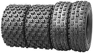 Set of 4 New Sport ATV Tires 21x7-10 Front & 20x10-9 Rear /4PR GNCC racing tires- 10075/10081