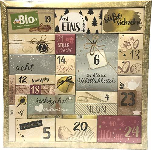 dm Bio - Adventskalender 2018 - Advent Calendar - aus biologische Landwirtschaft - Bio Produkte - limitiert