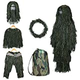 Best Ghillie Suits - SHINYEVER 5 in 1 Ghillie Suit – 3D Review