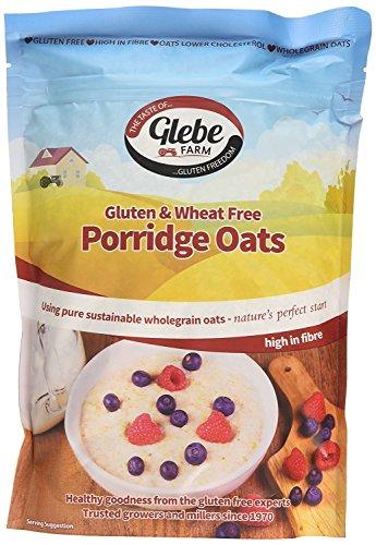Glebe Farm Porridge avoine sans gluten 450g (Lot de 8)