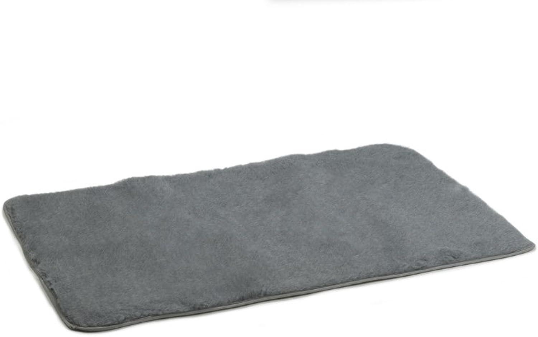 Beeztees Drybed Hemmed Border, 120 x 75 cm, Grey