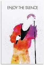 rongtao Depeche Mode - Póster decorativo para pared (30 x 45 cm)