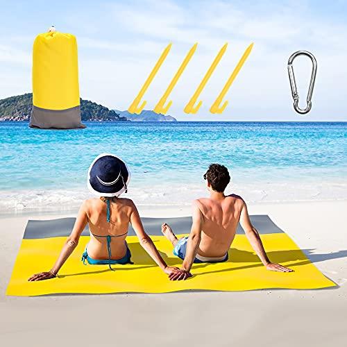 Sand Proof Beach Blanket,Large Sand…