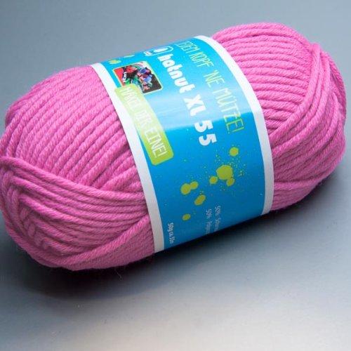 Hatnut XL 55 / Farbe 35 - pink (Wolle)