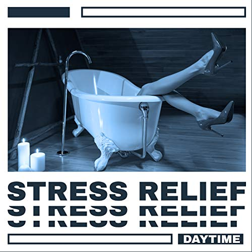 Stress Relief Daytime: Work Break for Tea and Stretching or Meditation,...